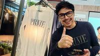 Thomas Djorghi membuka bisnis fashion Prime.