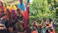 Menanam 111 pohon untuk merayakan kelahiran bayi perempuan