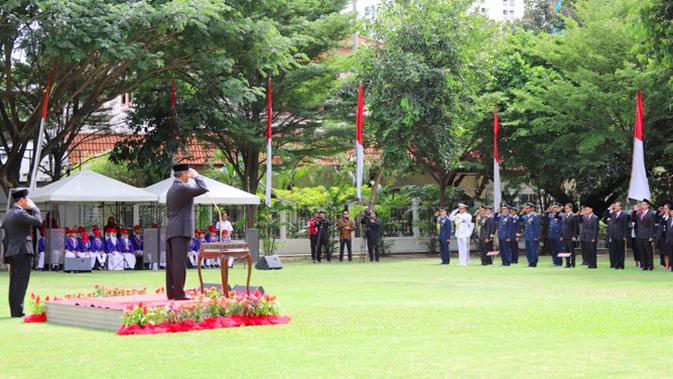 Upacara Hari Kemerdekaan RI juga diadakan di KBRI Bangkok (KBRI Bangkok)