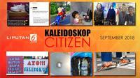 Banner Kaleidoskop Citizen September 2018. (Liputan6.com/Triyasni)