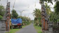 Desa Wisata Tenganan Pegringsingan Kecamatan Manggis, Kabupaten Karangasem, Provinsi Bali. (dok. kebudayaan.kemdikbud.go.id)