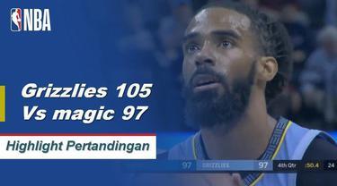 Mike Conley membukukan 26 poin dan delapan assist, Avery Bradley menambah 21 poin saat Grizzlies mengalahkan Magic.