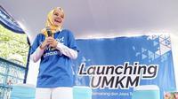 Dewi Sandra saat launching UMKM di kota Semarang