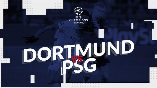 Berita video statistik Borussia Dortmund vs PSG pada leg pertama 16 besar Liga Champions 2019-2020, Rabu (19/2/2020) di Signal Iduna Park, Dortmund yang berakhir dengan skor 2-1.