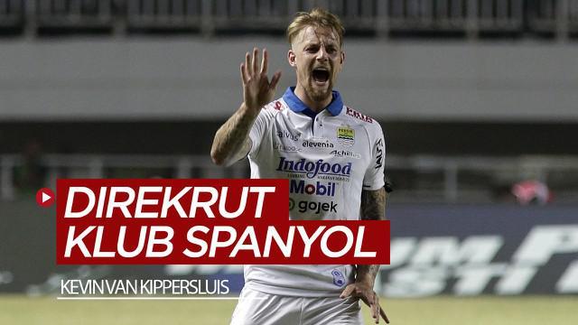 Berita video eks striker Persib Bandung, Kevin van Kippersluis, resmi direkrut klub Spanyol, CD Badojaz.