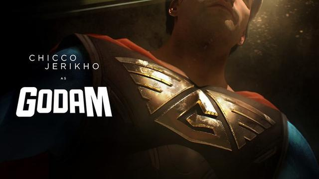 Hasil gambar untuk tokoh superhero godam dalam sinema bumilangit