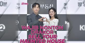 Jang Nara dan Yong Hwa CNBLUE Jadi Pengusir Hantu di Sell Your Haunted House