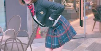 Cukup mengejutkan kabar yang datang dari aktris Korea Lee Cho Hee. Bermain di sebuah drama, wanita cantik itu bingung dalam memilih enam pria yang akan dijadikan lawannya berciuman pertama. (Instagram/lechohee)