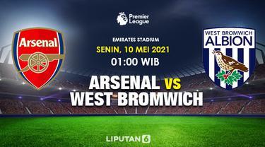 Prediksi Arsenal Vs West Bromwich