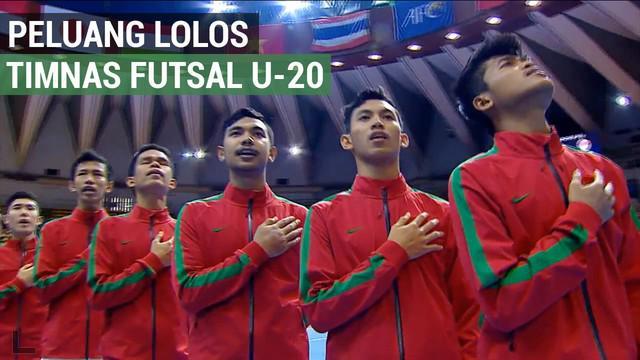 Berita video tentang Timnas Futsal Indonesia yang bermain imbang 1-1 melawan Vietnam di Piala Asia Futsal U-20.