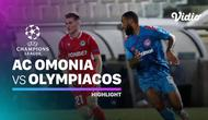 Berita Video highlights Leg kedua babak play-off Liga Champions, AC Omonia Vs Olympiakos