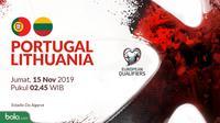 Kualifikasi Piala Eropa 2020 - Portugal Vs Lithuania (Bola.com/Adreanus Titus)