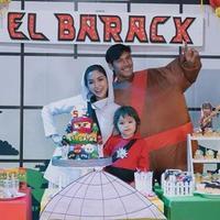Jessica Iskandar rayakan ulang tahun anaknya, El Barack (Instagram/inijedar)