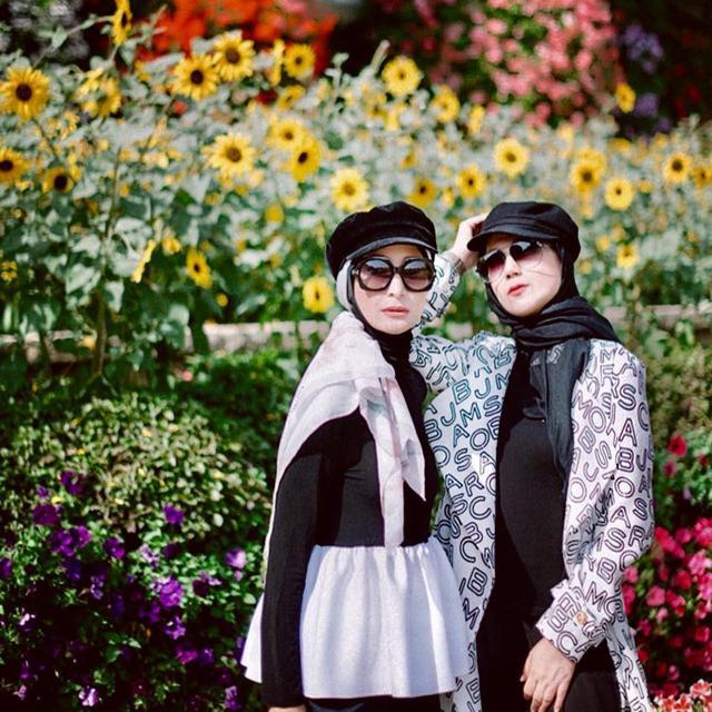5 Gaya Artis Cantik Pakai Hijab Topi Yang Jadi Tren Di Tahun 2018 Ramadan Liputan6 Com