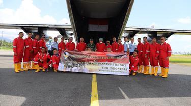 TNI menerbangkan Hercules ke Shanghai, China, untuk menjemput alat kesehatan terkait penanganan Covid-19 yang dibeli pemerintah