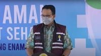 Gubernur DKI Jakarta Anies Baswedan menyampaikan apresiasi kepada HIPMI dalam acara Vaksin Aman, Masyarakat Sehat #2, Jumat (3/9/2021) (Foto: YouTube)