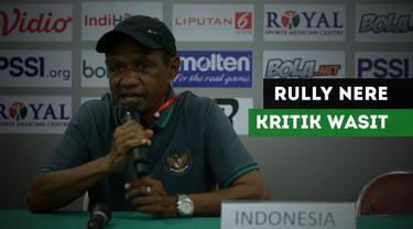 Berita Video Rully Nere Akui Keunggulan Laos Namun Kritik Wasit di Piala AFF U-16