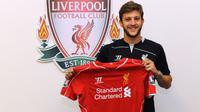 Adam Lallana resmi ke Liverpool (liverpoollfc.com)