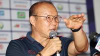 Park Hang-seo, pelatih Timnas Vietnam U-22 di SEA Games 2019. (Bola.com/Dok. VFF)