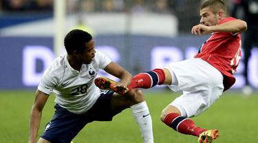 Tim nasional Prancis berhasil meraih hasil positif kala berhadapan dengan Norwegia dalam pertandingan persahabatan pada 28 Mei 2014 dini hari WIB.