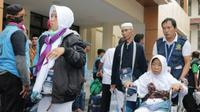 Jemaah Haji Indonesia asal Majalengka sudah tiba di Tanah Air. (Dream)
