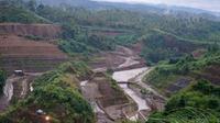 Kementerian PUPR tengah menyelesaikan pembangunan Bendungan Kuwil Kawangkoan di Kabupaten Minahasa Utara, Sulawesi Utara. (Dok Kementerian PUPR)
