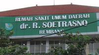 RSUD dr R Soetrasno Rembang, Jawa Tengah (Liputan6.com/Ahmad Adirin)