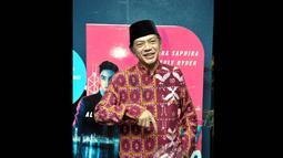 Aktor kelahiran Donggala ini pun tidak diam, dirinya langsung menyatakan pembelaan ke Bawaslu, Jakarta, (21/7/14) (Liputan6.com/ Panji Diksana)