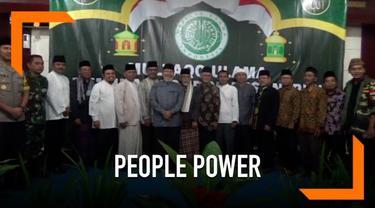 Ulama se-Kabupaten Ciamis, Jawa Barat sepkt menolak ajaan people power yang akan diadakan 22 mei 2019 di Jakarta.