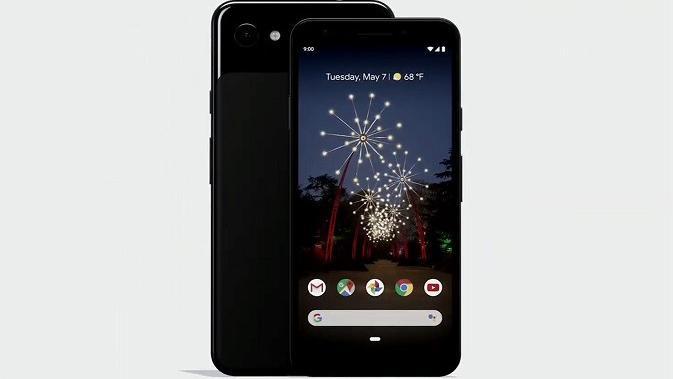 Tampilan dari smartphone anyar Google, Pixel 3A (sumber: Google)