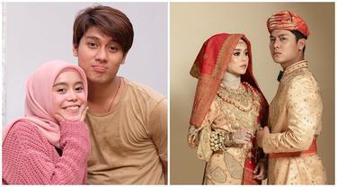 Umumkan Segera Menikah, Ini 5 Potret Rizky Billar dan Lesty Kejora Berbusana Minangkabau