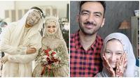Momen mesra reza DA dan Valda Alviana usai menikah. (Sumber: Instagram/@reza_zakarya_daa/@akbarhenna)