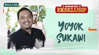 Wawancara Eksklusif - Yoyok Sukawi. (Bola.com/Dody Iryawan)