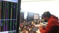 Layar komputer menunjukkan Indeks Harga Saham Gabungan (IHSG) di Jakarta, Kamis (9/9/2021). IHSG Bursa Efek Indonesia (BEI) pada Kamis sore ditutup menguat 42,2 poin atau 0,7 persen ke posisi 6.068,22 dipicu aksi beli oleh investor asing. (Liputan6.com/Angga Yuniar)