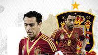 Mantan pemain Timnas Spanyol: Xavi Hernandez. (Bola.com/Dody Iryawan)