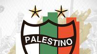 Logo CD Palestino. (Bola.com/Dody Iryawan)