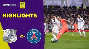 Berita Video Highlights Ligue 1, PSG Vs Amiens 4-4