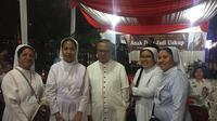 Mgr Ignatius Suharyo. (Liputan6.com/Muhammad Radityo Priyasmoro)