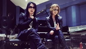 Hyde L'Arc-en-Ciel dan Yoshiki X Japan, dua musikus rock ternama di Jepang. (Instagram - @hydeofficial / @yoshikiofficial)