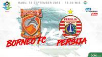 Liga 1 2018 Pusamania Borneo FC Vs Persija Jakarta (Bola.com/Adreanus Titus)