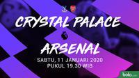 Premier League - Crystal Palace Vs Arsenal (Bola.com/Adreanus Titus)