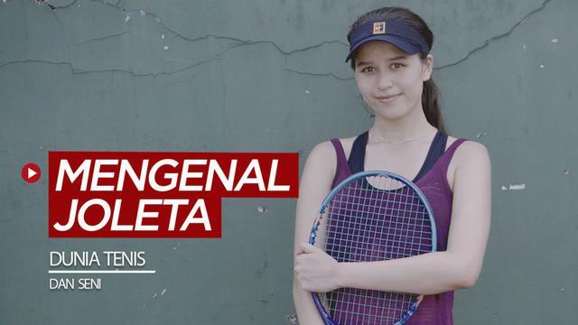 Berita video mengenal seperti apa dunia tenis dan seni dari atlet cantik, Joleta Budiman.