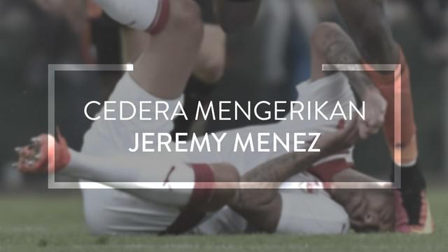 Mantan penyerang AC Milan, Jeremy Menez, kehilangan sebagian daun telinganya setelah diinjak oleh gelandang Lorient, Didier Ndong