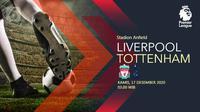 Liverpool vs Tottenham Hotspur (Liputan6.com/Abdillah)