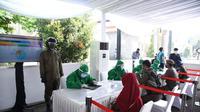 BIN menggelar rapid test di Bandung, Jawa Barat. (Istimewa)