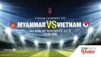 Prediksi MYANMAR Vs VIETNAM (Liputan6.com/Trie yas)