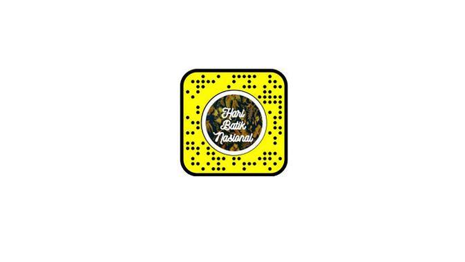Snapcode untuk melihat berbagai macam motif batik memanfaatkan lensa AR Snapchat. (Dok. Snapchat)