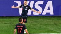 Ante Rebic memukau klub-klub Liga Inggris usai cetak gol di Piala Dunia(Martin BERNETTI / AFP)
