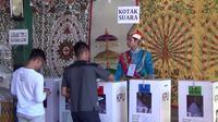 Pemungutan suara di Gorontalo (Liputan6.com/Andri Arnold)