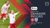 Denmark vs Inggris (Liputan6.com/Abdillah)